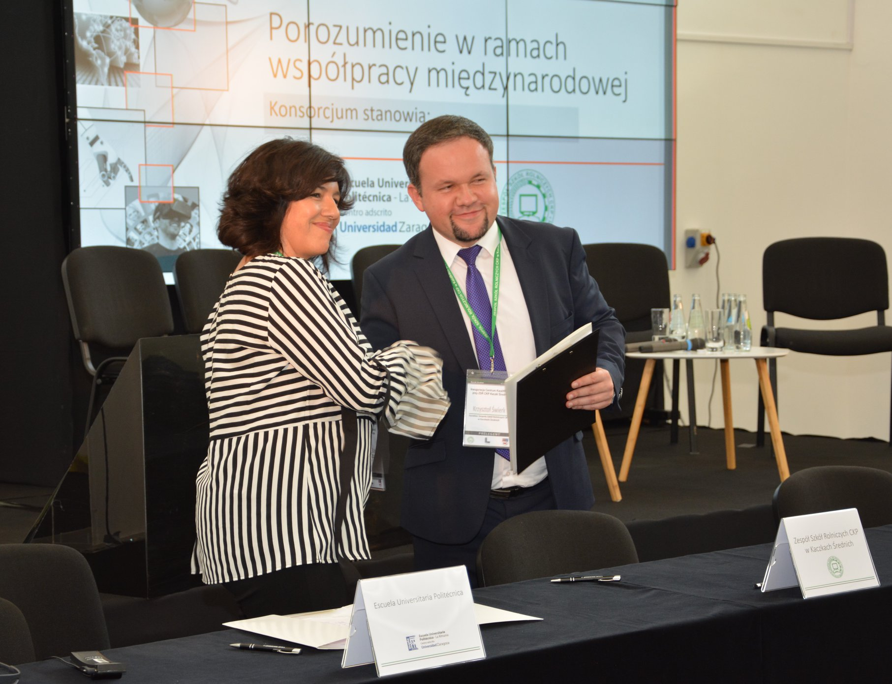 Konferencja inaugurująca Centrum Kwalifikacji przy ZSR w Kaczkach Średnich – 17 października 2018