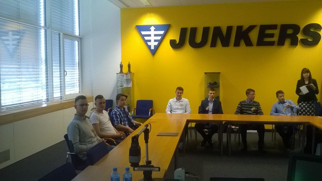 Rafał zwycięzcą programu Junkers Szkoli