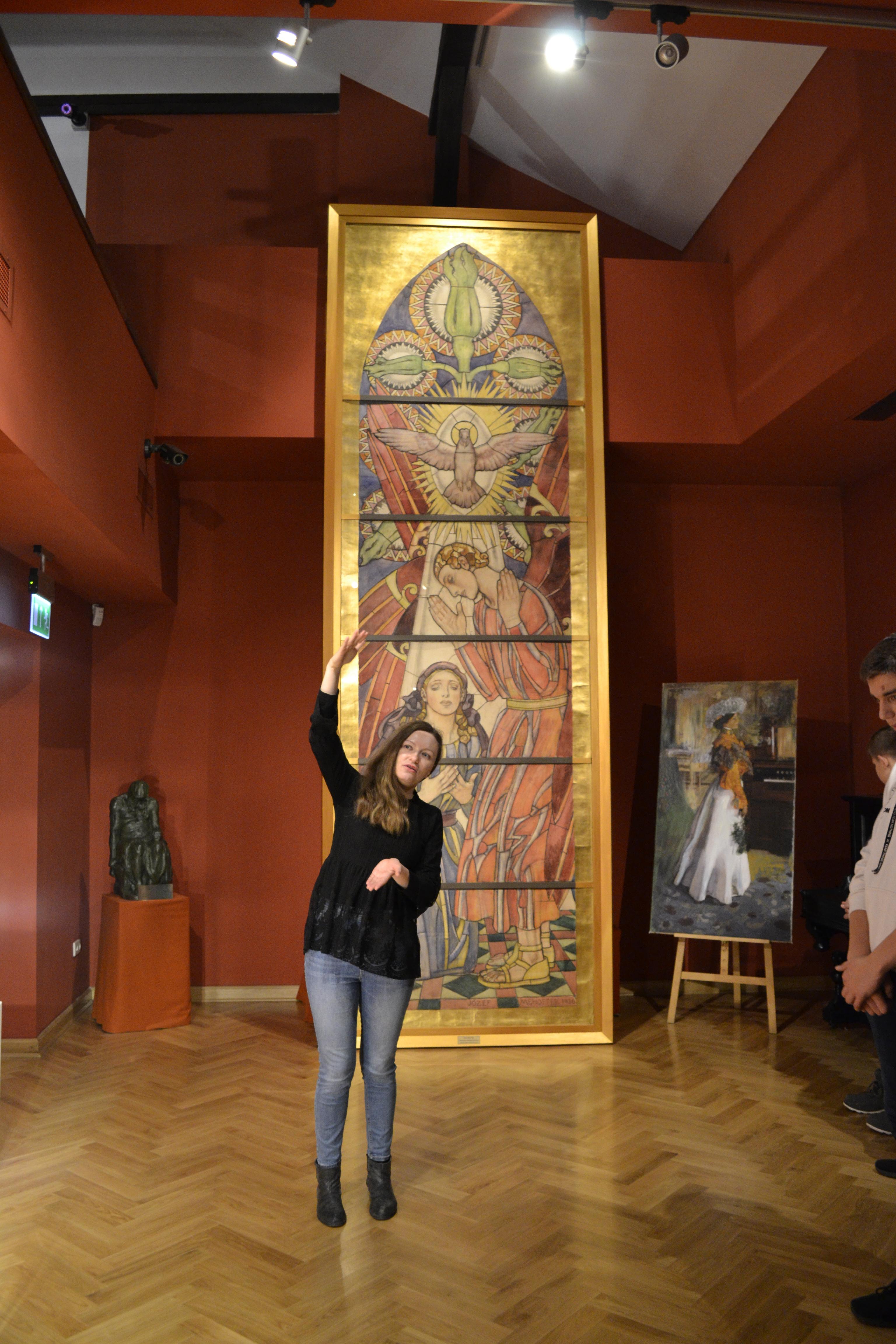 """Warsztaty muzealne """"Śladami Józefa Mehoffera"""""""