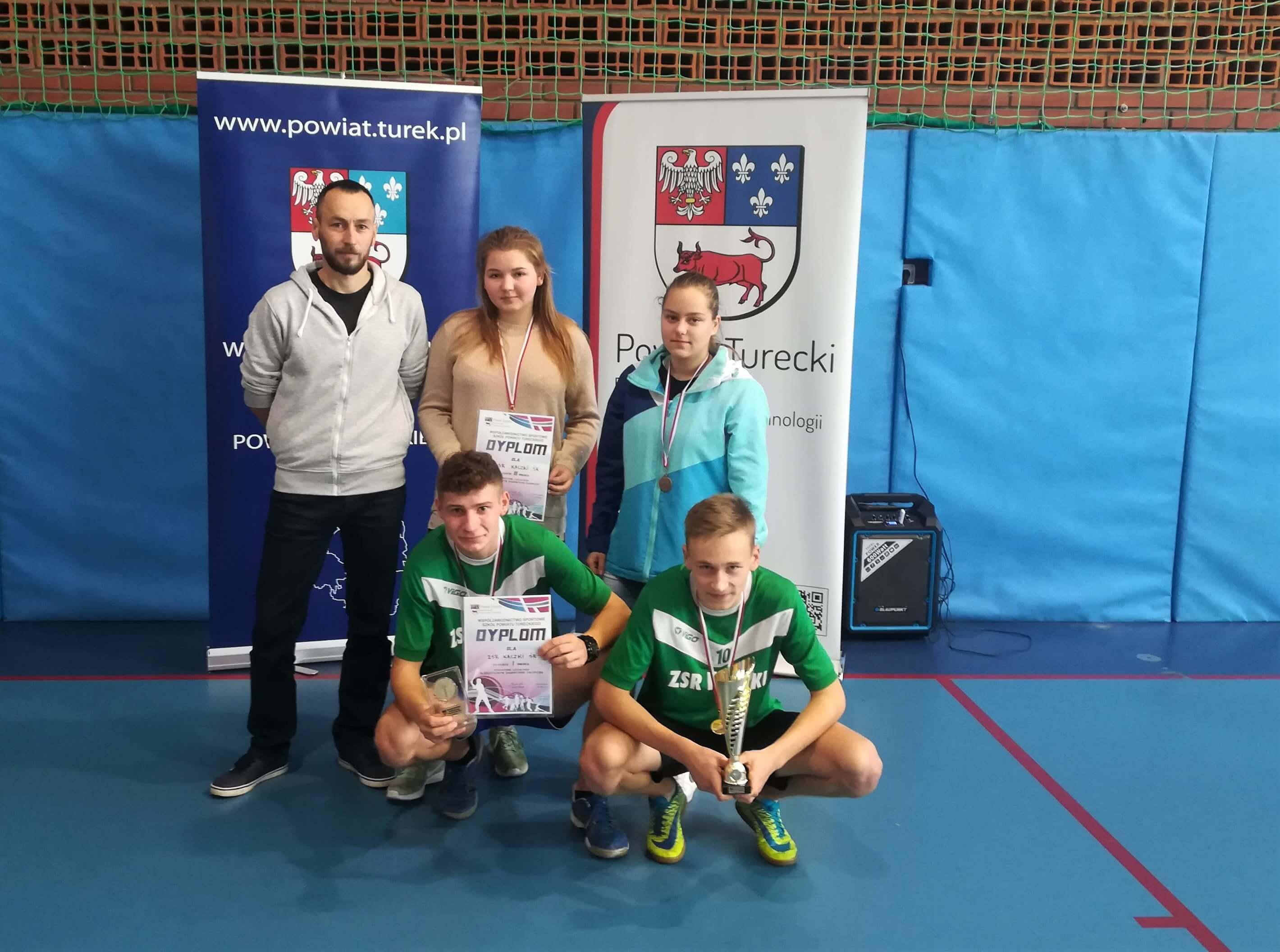 Badmintoniści ZSR CKP wicemistrzami powiatu