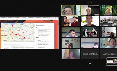 Współpraca międzynarodowa online w naszej szkole